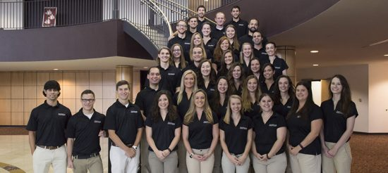 Class of 2019 physical therapy students