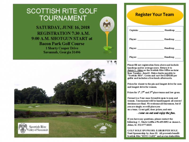 2018 Golf flyer Scottish Rite (1)