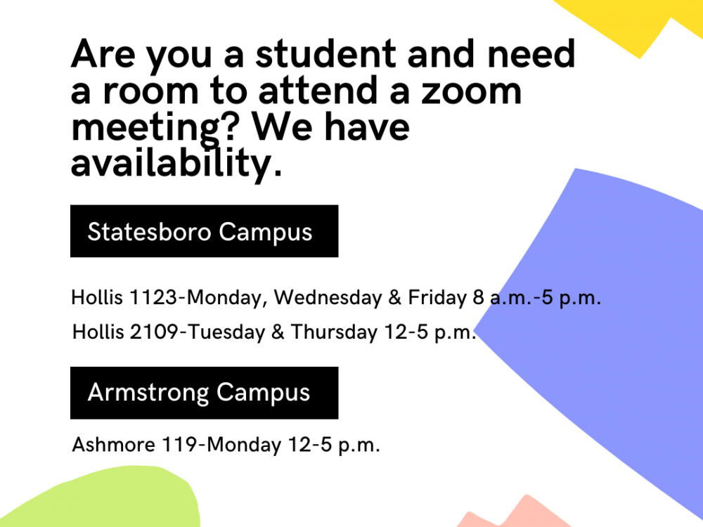 Are you a student and need a room to attend a zoom meeting_ We have availability. (1)