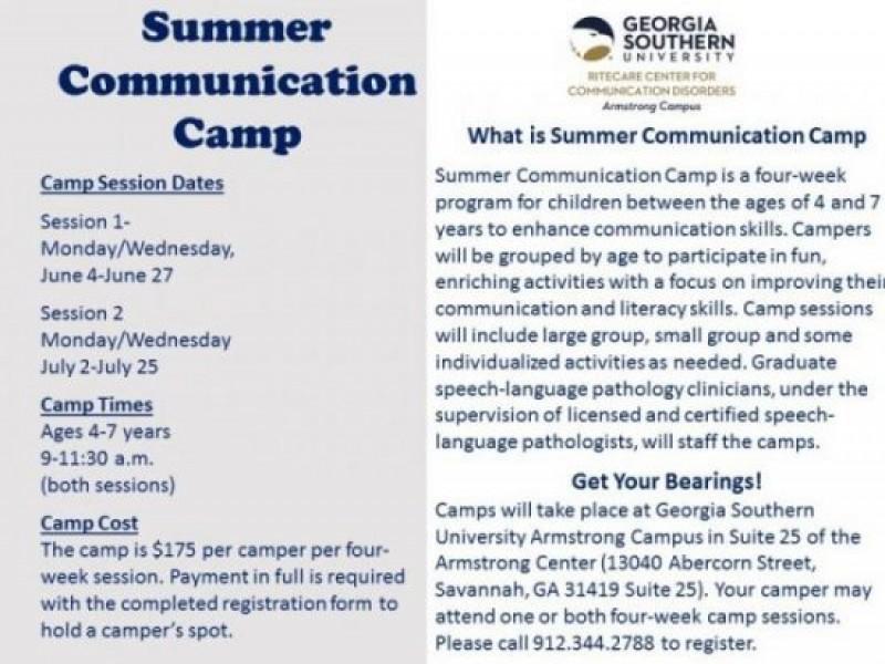 Summer Communication Camp